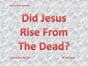 Did Jesus Rise From The Dead