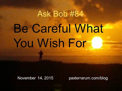 20151114 Be Careful What You Wish For