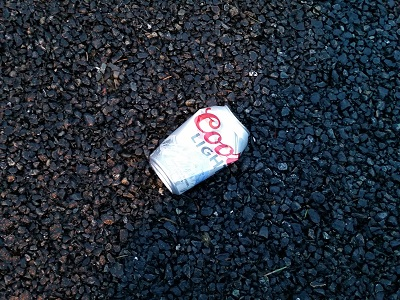 Crumpled Beer Can 01a
