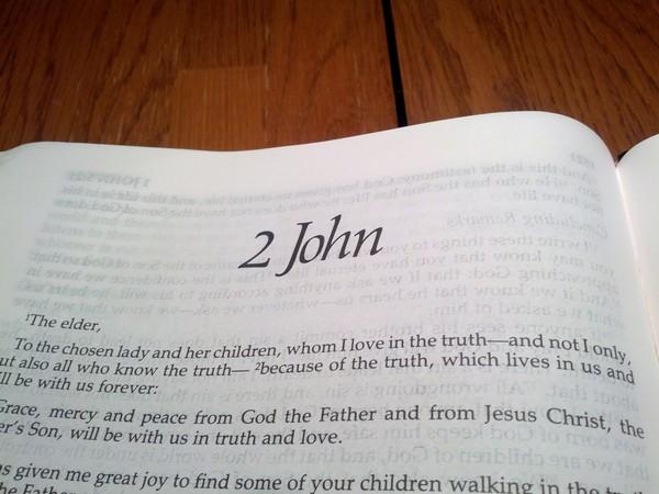 Ii John  U2013 Bible Study  U2013 Pax Terrarum