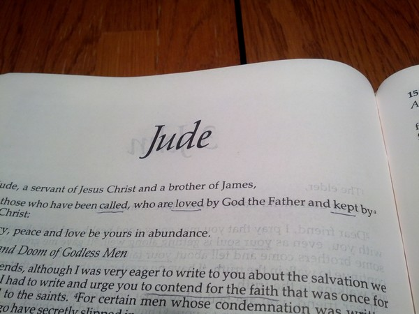 Jude 12-16 Bible Study Questions and Points - Study and Obey